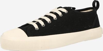 Tiger of Sweden Låg sneaker 'SOLENT' i svart / vit, Produktvy
