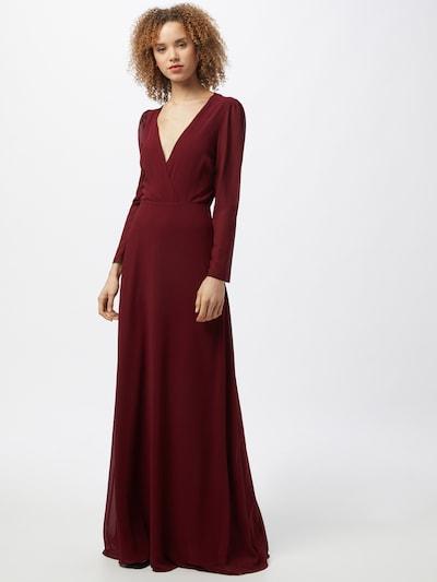 TFNC Kleid 'RIHANNA' in dunkelrot, Modelansicht
