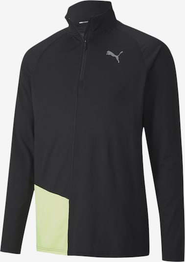 PUMA Functioneel shirt in de kleur Lichtgroen / Zwart, Productweergave