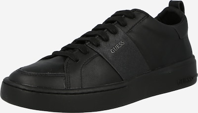 fekete GUESS Rövid szárú edzőcipők 'VERONA', Termék nézet