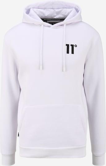 11 Degrees Sweat-shirt en noir / blanc, Vue avec produit