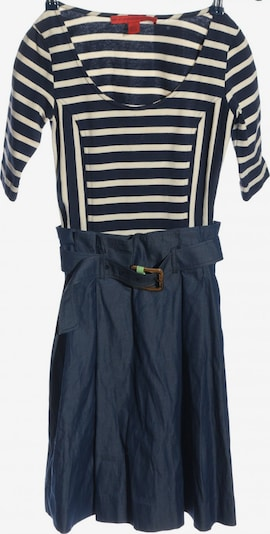 TOMMY HILFIGER Dress in S in Blue / Wool white, Item view