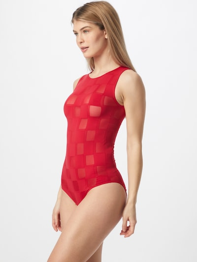 Wolford Swimsuit in Light red, View model