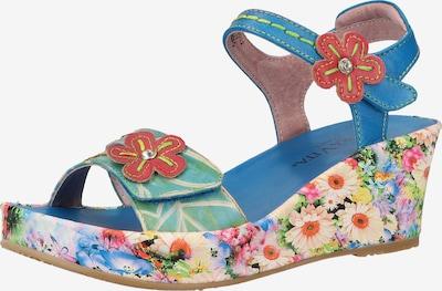 Laura Vita Sandale in blau / mischfarben, Produktansicht