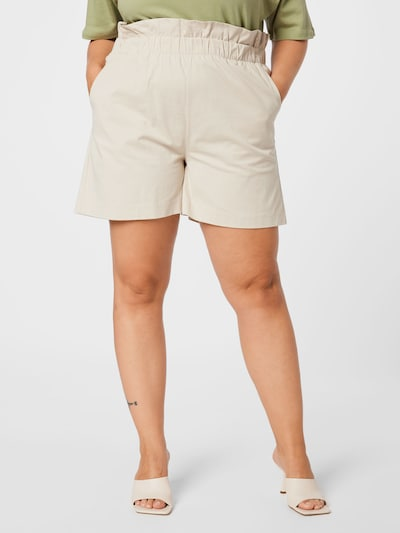 NU-IN Plus Shorts in creme: Frontalansicht