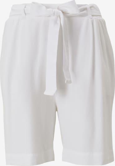 TOM TAILOR Pantalon chino en blanc: Vue de face