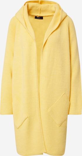 Zwillingsherz Плетена жилетка 'Annabell' в жълто: Изглед отпред