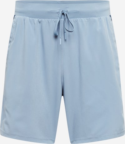 UNDER ARMOUR Pantalon de sport 'Qualifier Speedpocket 7' en bleu marine / opal, Vue avec produit