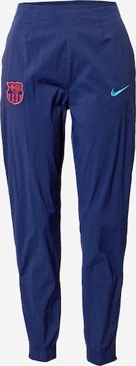 NIKE Pantalon de sport 'FCB W NK PANT WPZ' en bleu foncé, Vue avec produit