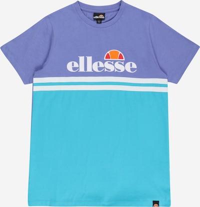 ELLESSE Camiseta en azul claro / lila / naranja / rojo / blanco, Vista del producto