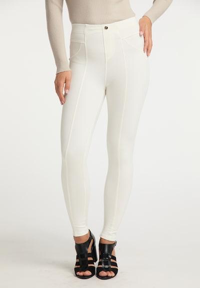 faina Leggings in White, View model