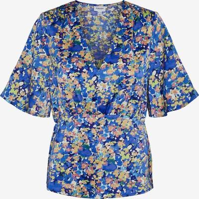 AWARE by Vero Moda Bluse 'Paula' in beige / royalblau / hellgrün / mischfarben, Produktansicht