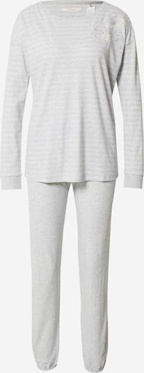 Pižama iš TRIUMPH, spalva – citrinos spalva / margai pilka / balta, Prekių apžvalga