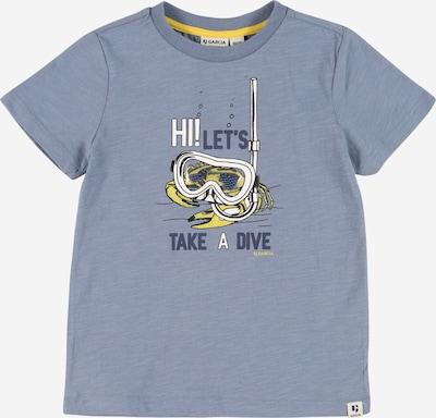 GARCIA T-Krekls, krāsa - jūraszils / baložzils / dzeltens / balts, Preces skats