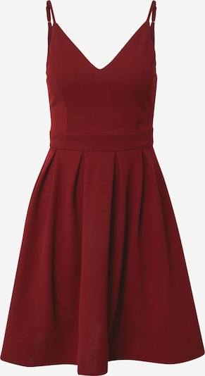 Skirt & Stiletto Robe de cocktail en rouge foncé, Vue avec produit