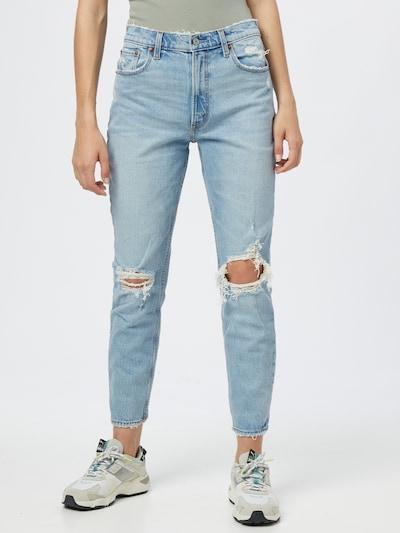Abercrombie & Fitch Jeans in blau, Modelansicht