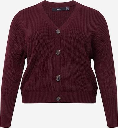 Geacă tricotată 'LEA' Vero Moda Curve pe roșu vin, Vizualizare produs