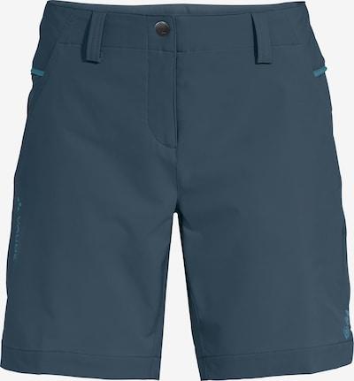 VAUDE Sportshorts 'Skomer III' in marine / himmelblau, Produktansicht