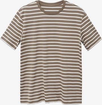 MANGO MAN Shirt 'JAMES' in Braun