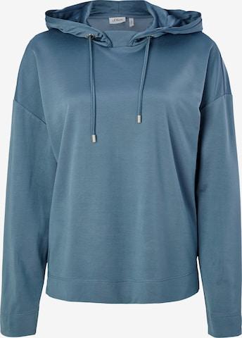 s.Oliver BLACK LABEL Sweatshirt Hoodie Style in Blau