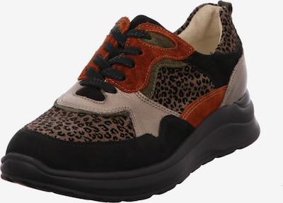 WALDLÄUFER Lace-Up Shoes in Beige / Brown / Dark red / Black, Item view