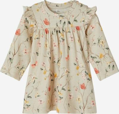 NAME IT Kleid 'Fiola' in beige / mischfarben, Produktansicht