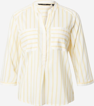 VERO MODA Blouse 'VMERIKA' in yellow / white, Item view