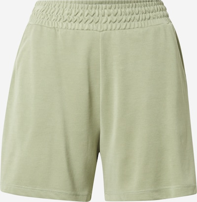 mbym Pantalon 'Flannery' en vert clair, Vue avec produit