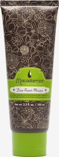 Macadamia Haarmaske 'Deep Repair' in braun, Produktansicht