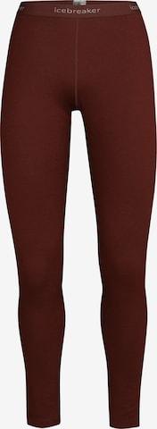 Pantaloncini intimi sportivi di ICEBREAKER in marrone