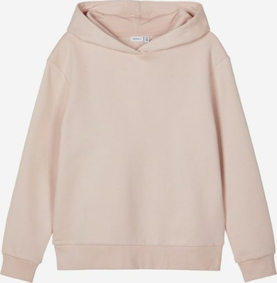 NAME IT Sweatshirt 'NKFTELUA LS SWEAT WH BRU' in beige, Produktansicht