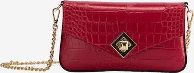 faina Clutch in de kleur Rood, Productweergave