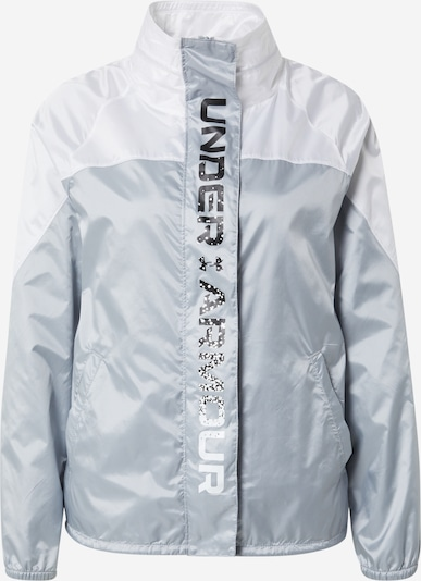 UNDER ARMOUR Sporta jaka ' Recover ' pelēks / balts, Preces skats
