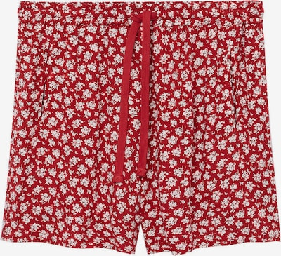 VIOLETA by Mango Shorts 'WAITOPI' in rot / weiß, Produktansicht