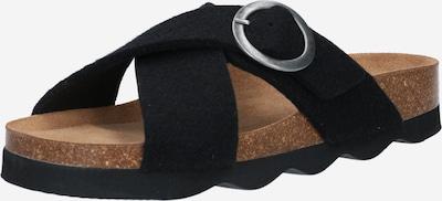 SHEPHERD OF SWEDEN Muiltjes 'Marianne' in de kleur Zwart, Productweergave