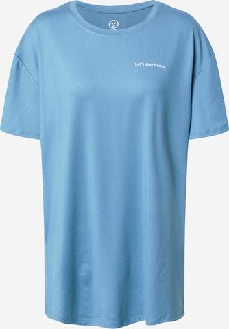 HOLLISTER Schlafshirt in Blau