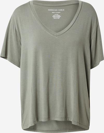 American Eagle Тениска в маслина: Изглед отпред