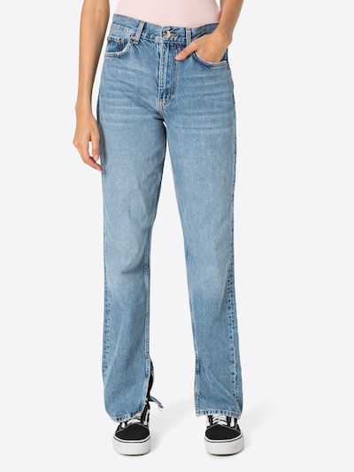 Gina Tricot Jeans in Blue denim: Frontal view