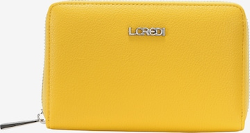 L.CREDI Geldbörse 'FILIPPA' in Gelb