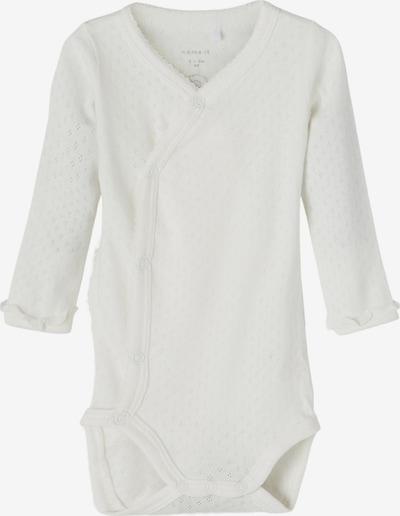 NAME IT Бебешки гащеризони/боди 'Louise' в естествено бяло, Преглед на продукта