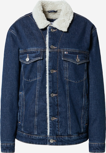 Tommy Jeans Tussenjas in de kleur Blauw denim, Productweergave