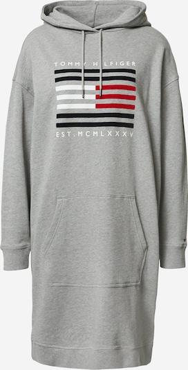 TOMMY HILFIGER Sweatshirt in de kleur Nachtblauw / Grijs gemêleerd / Rood, Productweergave