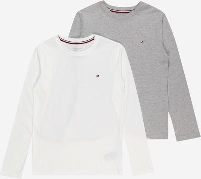 Tommy Hilfiger Underwear Camiseta en gris moteado / blanco, Vista del producto