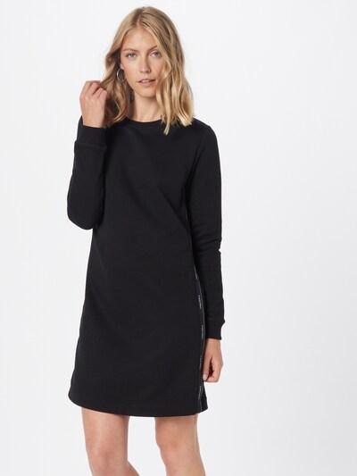 Calvin Klein Šaty - čierna / biela, Model/-ka
