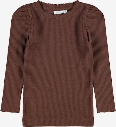 NAME IT T-Shirt 'Kabexi' en brun foncé, Vue avec produit