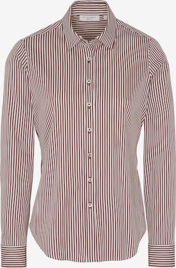 ETERNA Bluse in braun / weiß, Produktansicht