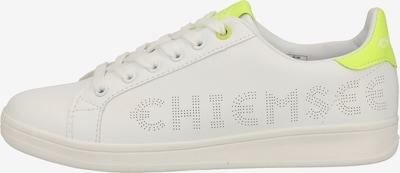 CHIEMSEE Sneaker in neongelb / weiß, Produktansicht