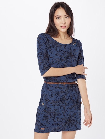 Ragwear Dress 'Tanya' in Blue / Black, View model