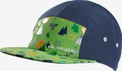 VAUDE Mütze in navy / hellgrün, Produktansicht
