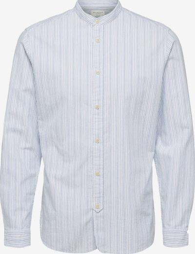 SELECTED HOMME Hemd 'MILTON' in rauchblau / weiß, Produktansicht